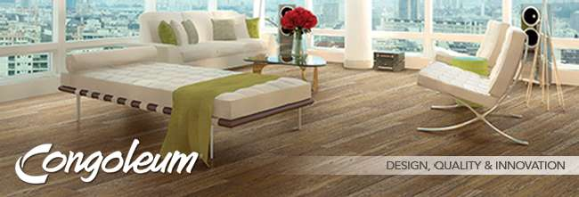 Congoleum Luxury Tile Plank Vinyl Sheet Flooring - Congoleum flooring distributors