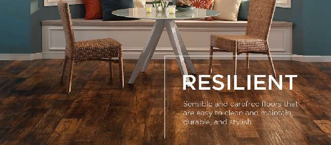 Mannington Resilient Vinyl Flooring