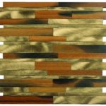 Baguette Catalpa Wood & Gold Aluminum Mix - MEMI51
