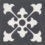 CEMENT TILE DECOR 1 CLASSIC OFF WHITE ANTRACITE - CIMI01
