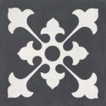 CEMENT TILE DECOR 1 CLASSIC OFF WHITE ANTRACITE - CIMI01