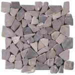 Grey Opus Mosaic Interlocking - 12x12 Sheet - MAGR01