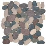Mix Color XL Sliced Matte Pebble Interlocking GAMI80