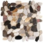 Mix Sliced Polished Pebble Interlocking GAMI86