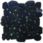 Sliced Pebbles XL Black S GANO23