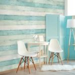 Wallplanks Shaded Picket Aqua