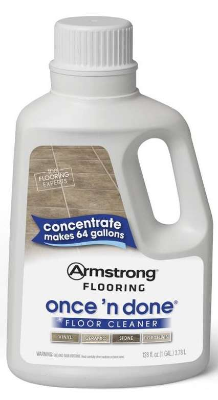 Armstrong Once n Done Vinyl Floor Cleaner