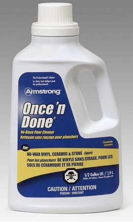Armstrong S-330 Once N Done No-Rinse Floor Cleaner