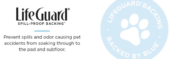 LifeGuard Waterproof Backing