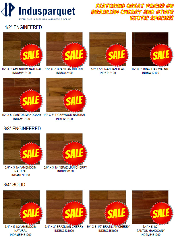 IndusParquet-Hardwood-Sales