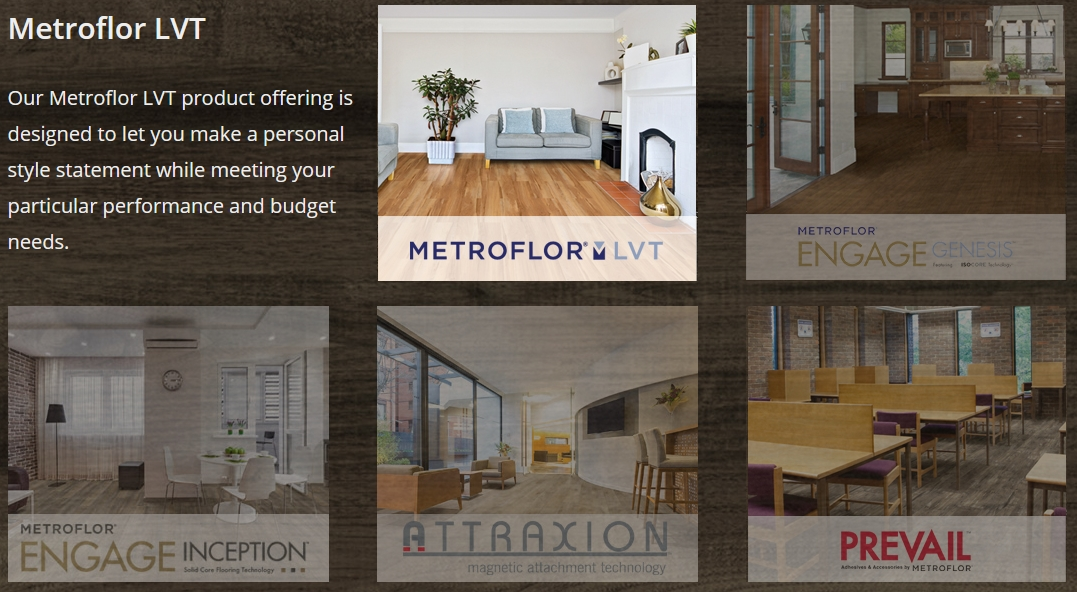 Metroflor LVT Sales