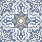 Bedrosians Tile Villa Azul Matte Porcelain Tile - Blue