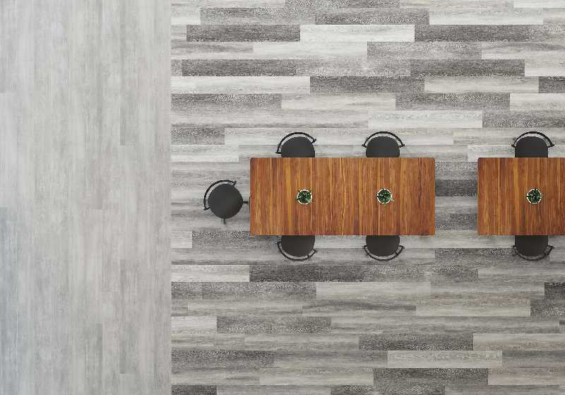 Patcraft Plank   Sheet Resilient Flooring Natural State 12 Mil Click